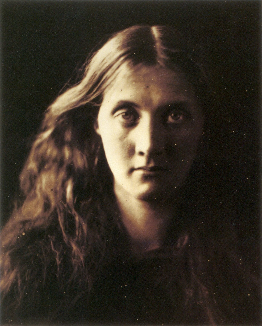 Julia Margaret Cameron, My niece full face, 1867