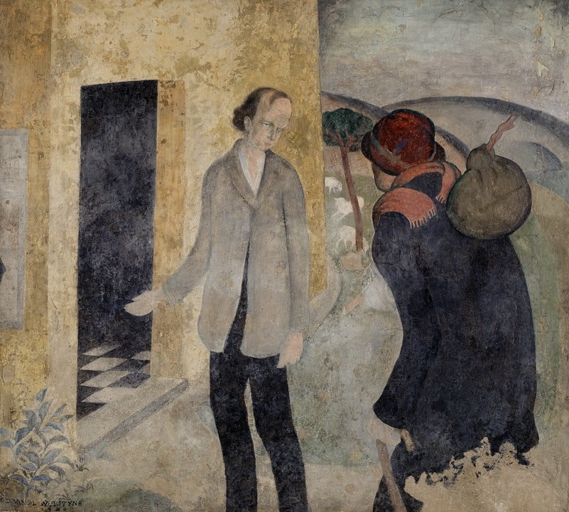 Gustave Van de Woestyne, Hospitality for strangers, 1920, M…